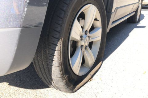 Alexandria police arrest suspected tire-slasher