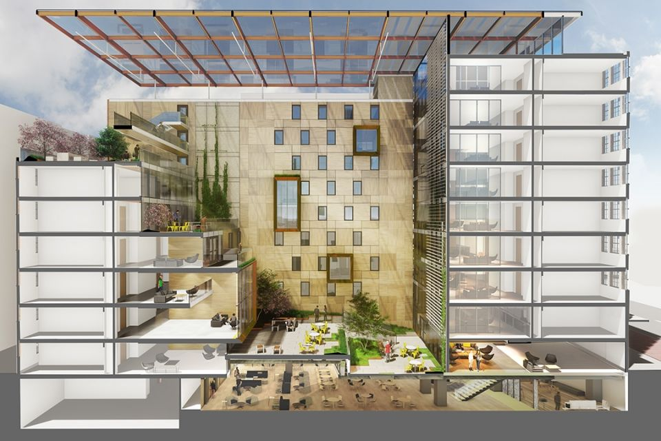 <p>Here is more of what the building will look like. (Courtesy VMDO Architects, PC) </p>
