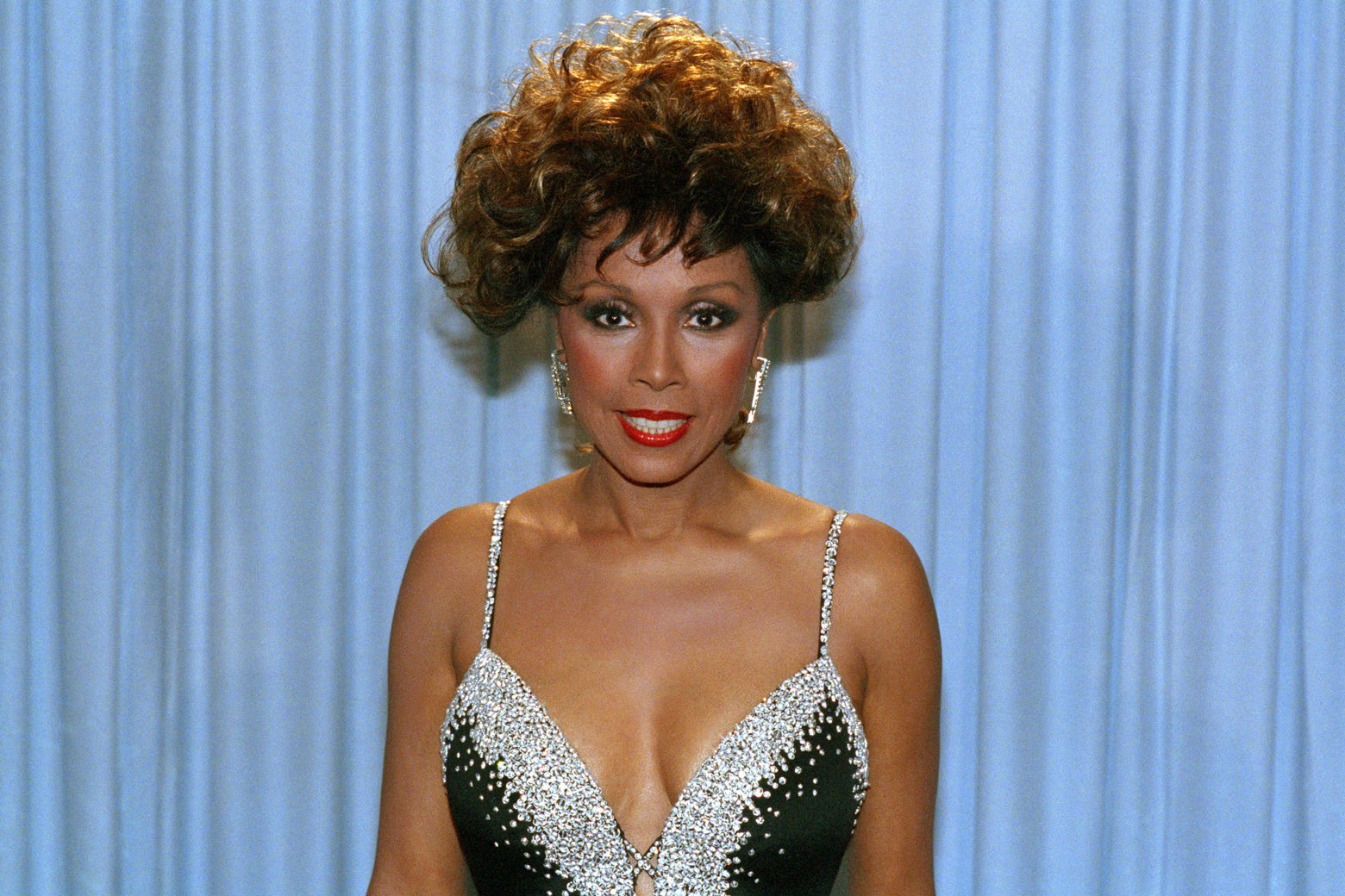 Actress Diahann Carroll at the Emmy Awards in Pasadena, Calif. on Sept. 22, 1985. (AP Photo/UT)