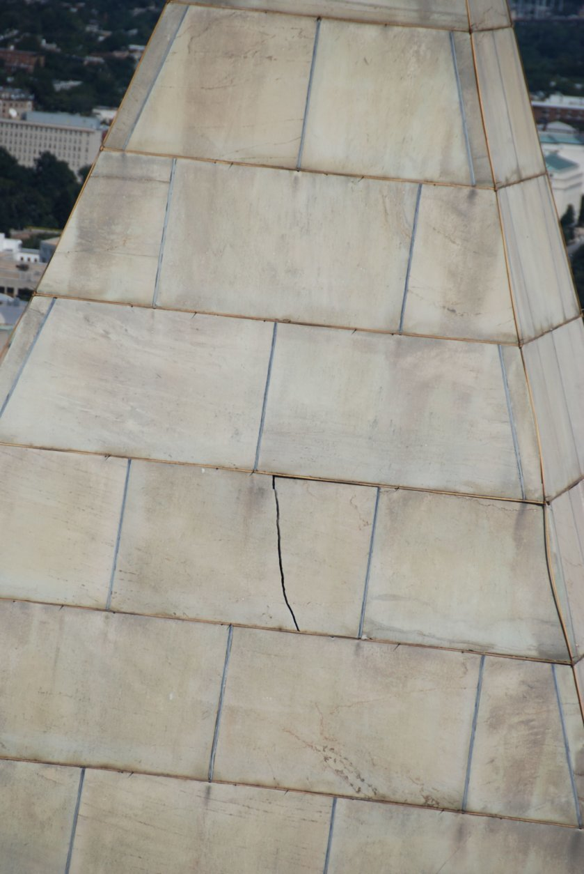 <p>This is hardly the first time the Washington Monument has been closed for repairs. The earthquake in 2011 did a number on the obelisk.</p>