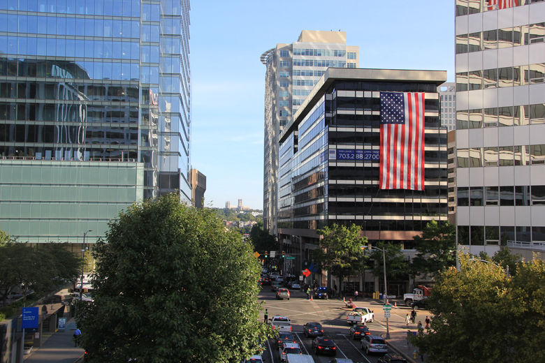 Flags Across Rosslyn
