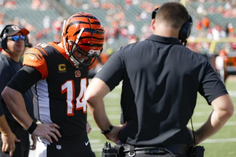 Bengals fall apart every which way in home opener
