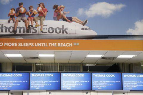 A look at failed UK tour operator Thomas Cook