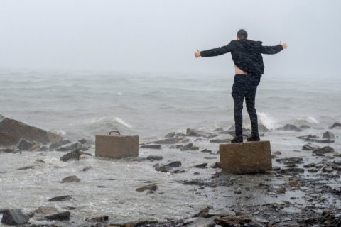 Dorian lashes east Canada, then weakens heading out to sea