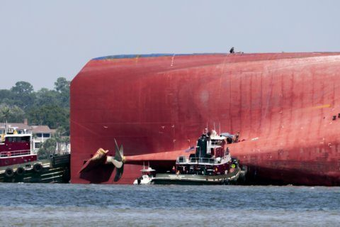 'Rescue of a lifetime': 4 pulled safely from overturned ship