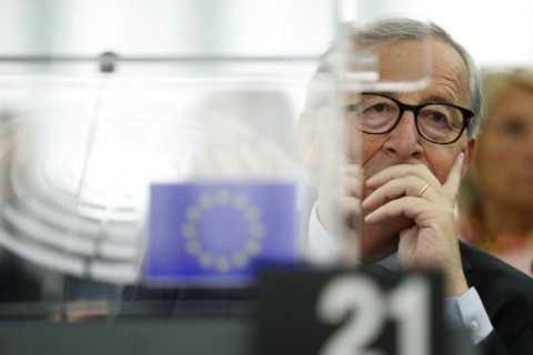 EU's Juncker: Irish border controls needed in no-deal Brexit
