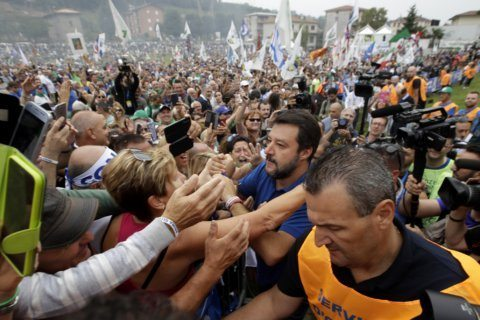 Italian hard-liner Salvini vows to return League to power