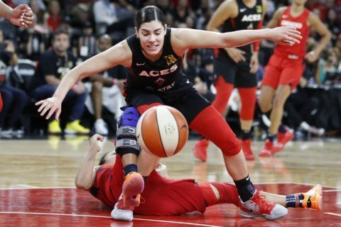 Cambage scores 28 to lead Aces to 92-75 win over Washington