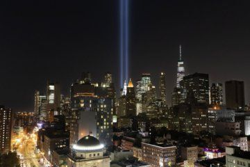 WATCH: 'Tribute in Light' shines for 9/11 victims in New York City