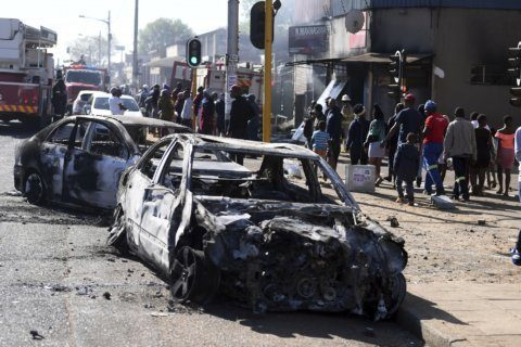 Looting, violence spread in South Africa's major cities