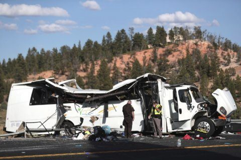 Chinese travel company defends bus driver in fatal US crash