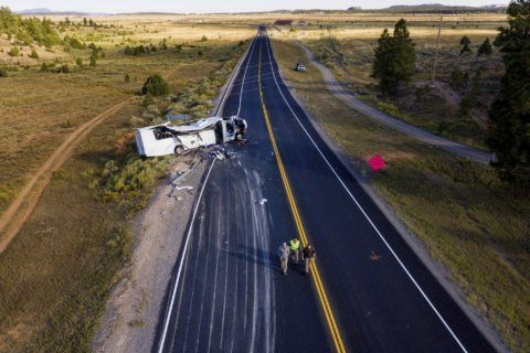 The Latest: 4 victims in tour bus crash in Utah identified