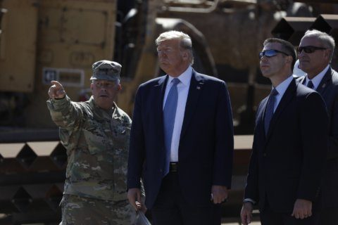 Trump rebuked on military base project cuts, but veto looms
