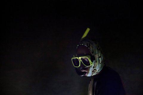 AP Photos: Night fishing in moonlit sea in eerie silence