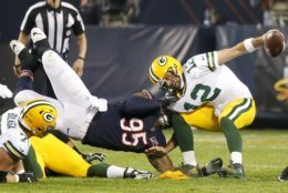 <p><b><i>Packers 10</i></b><br /> <b><i>Bears 3</i></b></p> <p>In the 199th meeting of the NFL&#8217;s oldest rivalry and the lowest scoring season opener since 2002, Chicago's offense yielded only 19.2 yards per drive, the lowest in Matt Nagy's career as an offensive coordinator or head coach. The Bears offense was so bad we&#8217;re not even paying attention to how equally-questionable Green Bay&#8217;s offense is.</p>