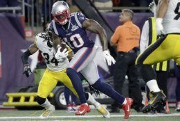"<p><b><i>Steelers 3</i></b><br /> <b><i>Patriots 33</i></b></p> <p>Pittsburgh is now 1-6 at Gillette Stadium, so while losing to the Patriots may have been a foregone conclusion, failing to score a touchdown makes me worry that even though they&#8217;re finally free of drama, the Steelers may simply lack the playmakers to be the kind of team they thought they could be with Killer B&#8217;s.</p> <p>Speaking of which … Antonio Brown joining the Patriots is just the kind of thing that makes me think 1) Brown&#8217;s meltdown was a calculated move to get to a contender and 2) I should have picked New England to win the Super Bowl. Is it too late to change <a href=""https://wtop.com/gallery/nfl/2019-nfl-playoff-predictions/"" target=""_blank"" rel=""noopener"">my pick</a>?</p>"