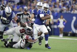 "<p><b><i>Falcons 24</i></b><br /> <b><i>Colts 27</i></b></p> <p>Adam Vinatieri <a href=""https://www.indystar.com/story/sports/nfl/colts/2019/09/17/adam-vinatieri-talks-decision-not-retire-indianapolis-colts/2334206001/"" target=""_blank"" rel=""noopener"" data-saferedirecturl=""https://www.google.com/url?q=https://www.indystar.com/story/sports/nfl/colts/2019/09/17/adam-vinatieri-talks-decision-not-retire-indianapolis-colts/2334206001/&amp;source=gmail&amp;ust=1569294743341000&amp;usg=AFQjCNEYB6KdMNYVUj5vyTNxCox2wtqQMg"">got the demons out</a>, Jacoby Brissett looked more like an MVP than Matt Ryan, and Indianapolis is off to its best start since 2013. Andrew who?</p> <p>And though it&#8217;s still mathematically possible for Atlanta to live up to <a href=""https://wtop.com/gallery/nfl/2019-nfl-playoff-predictions/"" target=""_blank"" rel=""noopener"">my lofty expectations</a>, Ryan&#8217;s uninspiring start to the season and Keanu Neal&#8217;s injury (and the ensuing <a href=""https://profootballtalk.nbcsports.com/2019/09/22/falcons-safety-keanu-neal-penalized-as-hes-being-carted-off/"" target=""_blank"" rel=""noopener"" data-saferedirecturl=""https://www.google.com/url?q=https://profootballtalk.nbcsports.com/2019/09/22/falcons-safety-keanu-neal-penalized-as-hes-being-carted-off/&amp;source=gmail&amp;ust=1569294743341000&amp;usg=AFQjCNHc0j0k1VM_0Xl3YuMJEaQ-Vct28A"">insult to the injury</a>) have me rethinking my <a href=""https://wtop.com/nfl/2019/09/2019-nfc-south-preview/"">second-boldest prediction of 2019</a>.</p>"