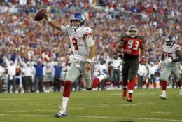 "<p><b><i>Giants 32</i></b><br /> <b><i>Bucs 31</i></b></p> <p>Daniel Jones told us <a href=""https://profootballtalk.nbcsports.com/2019/09/18/daniel-jones-i-feel-ready/"" target=""_blank"" rel=""noopener"" data-saferedirecturl=""https://www.google.com/url?q=https://profootballtalk.nbcsports.com/2019/09/18/daniel-jones-i-feel-ready/&amp;source=gmail&amp;ust=1569294743340000&amp;usg=AFQjCNEAYl4FuCN7z3mcRFb6wS4ItCIlLg"">he&#8217;s ready</a>, and boy was he. Jones engineered an 18-point comeback — the second largest since 1970 for a QB starting his first game — and became the first Giant with two passing touchdowns and two rushing scores in a single game. If he can keep this up against stiffer competition and without the <a href=""https://www.espn.com/nfl/story/_/id/27678892/sources-giants-rb-barkley-high-ankle-sprain"" target=""_blank"" rel=""noopener"">injured Saquon Barkley</a>, Dave Gettleman might actually know what he&#8217;s doing after all.</p>"
