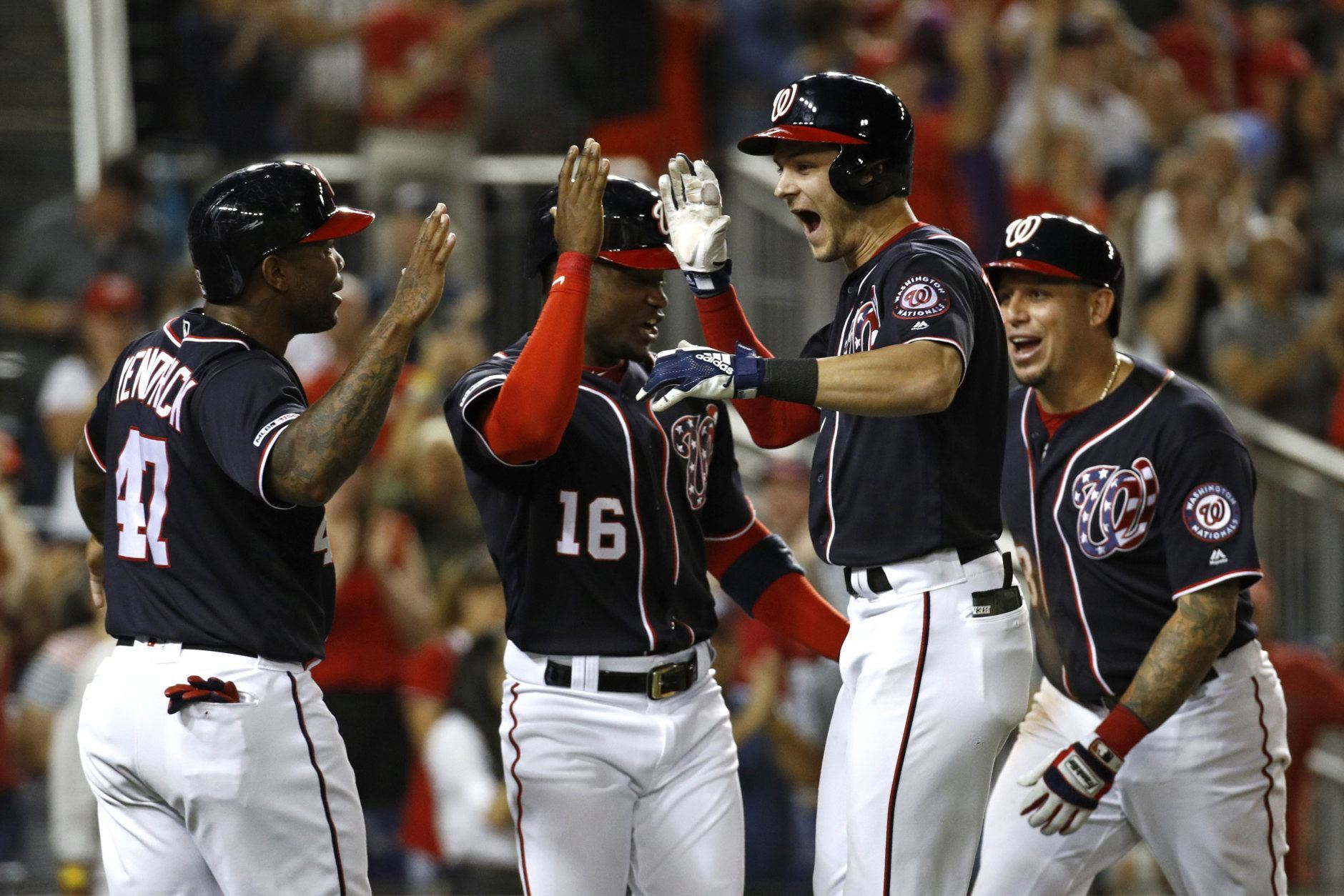 <p><strong>Jonathan Warner, sports anchor</strong></p> <p>World Series Prediction: Nationals in seven games</p> <p>World Series MVP: Trea Turner</p> <p>Bold Prediction: Justin Verlander does not win a game in the series.</p>