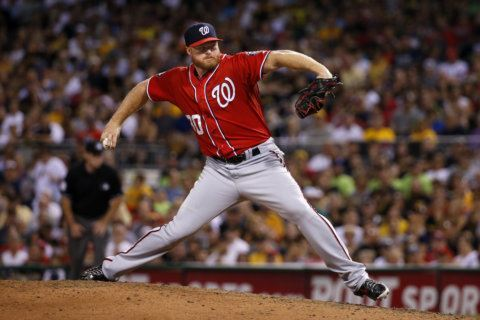 Nationals' Barrett returns to majors for 1st time since 2015