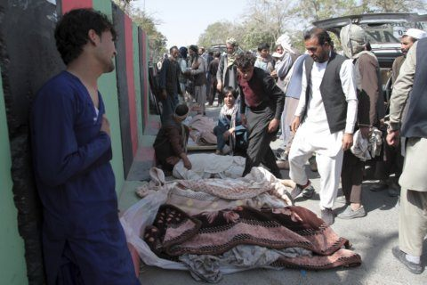 Afghan protesters claim US strikes kill 5 civilians in east