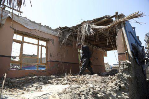 Official: Taliban suicide car bomber kills 4 Afghan troops