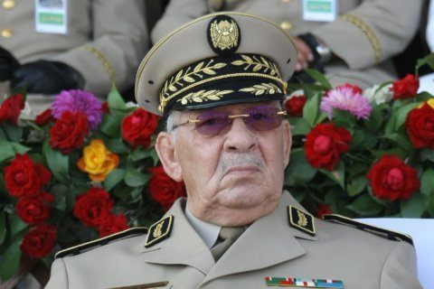 Algeria army chief orders clampdown on protesters