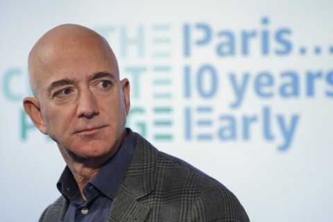 Jeff Bezos wants Amazon to hit carbon neutrality by 2040. Northern Va.'s HQ2 will play big role