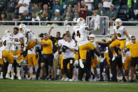 Pac-12 acknowledges officiating error in Arizona State's win