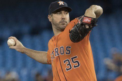 Verlander pitches 3rd career no-hitter, Astros beat Jays 2-0