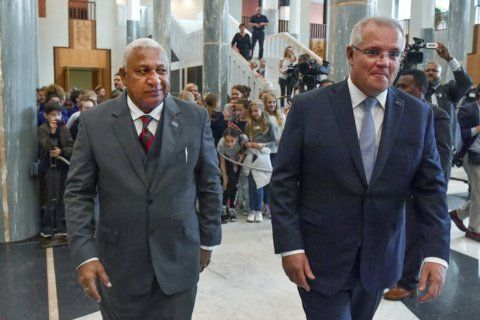 Fijian leader urges Australia to do more on climate change