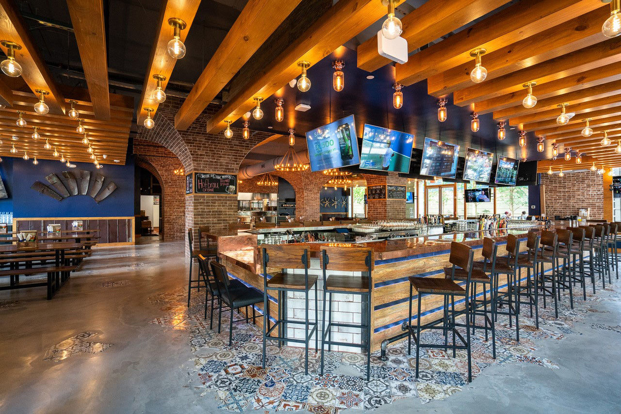 The restaurant, from co-owner and chef Mike Cordero, is focused on craft beer and German-American food, with a menu that includes giant Munich pretzels, pierogis and schnitzel. (Courtesy Bronson Bier Hall)