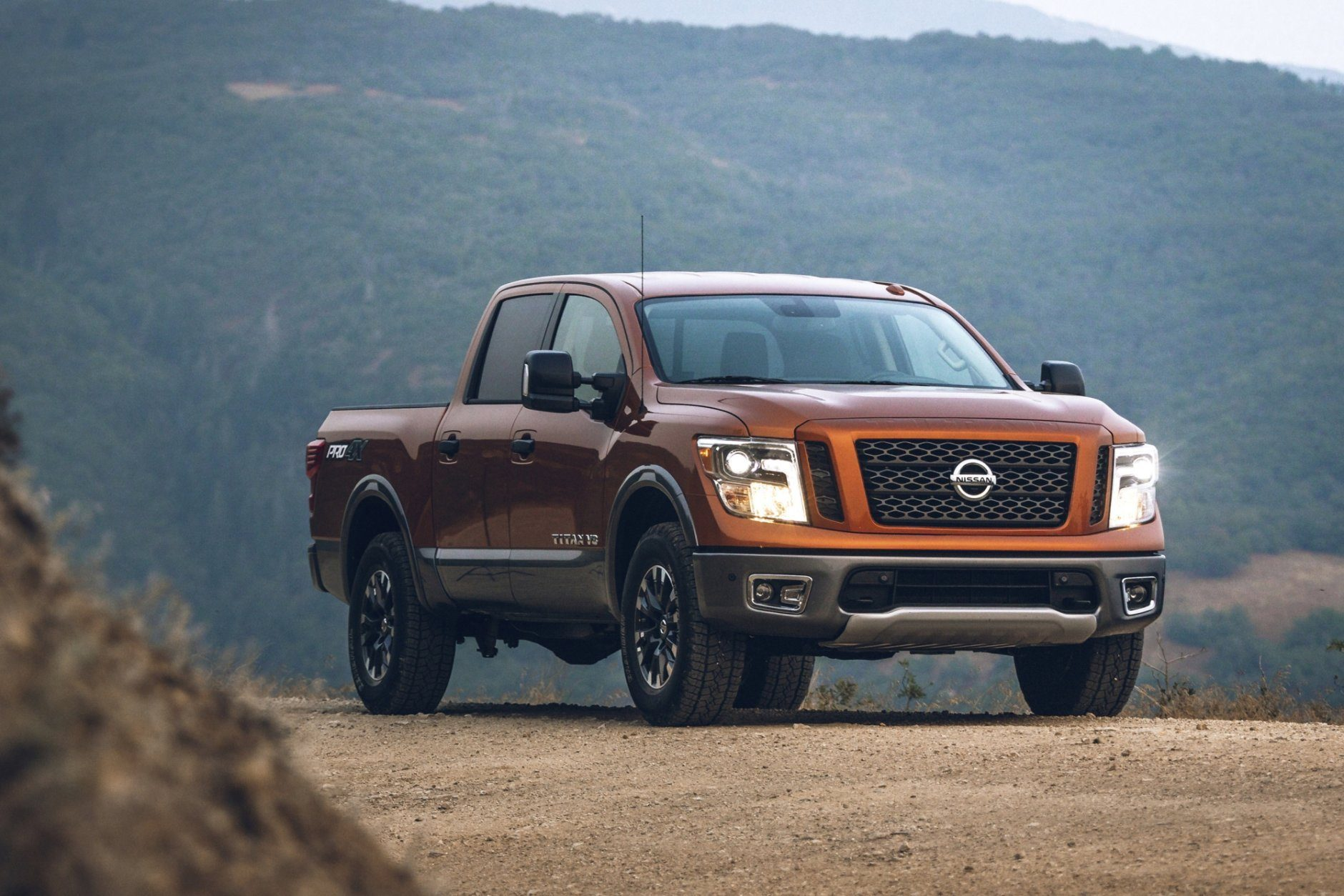 This undated photo provided by Nissan shows the 2019 Nissan Titan XD. (Nissan North America via AP)
