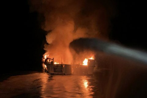Injured crewman sues boat owner for fiery disaster at sea