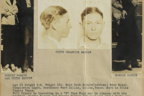 Auction: Bonnie Parker's poetry book, Clyde Barrow's watch