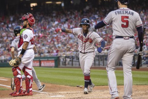 Braves clinch playoff spot with win over Nationals
