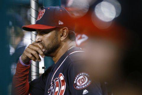 Nats manager Martinez rejoins team after heart procedure