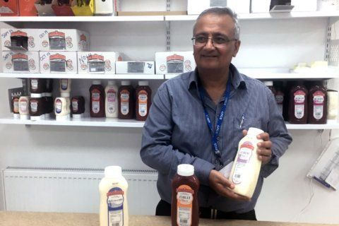 Bitter road to Brexit hits condiment producer's bottom line