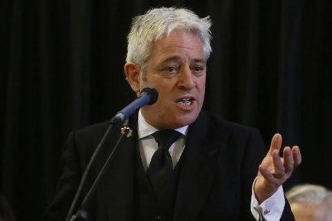 Orrr-duhhh: UK's speaker John Bercow takes center stage