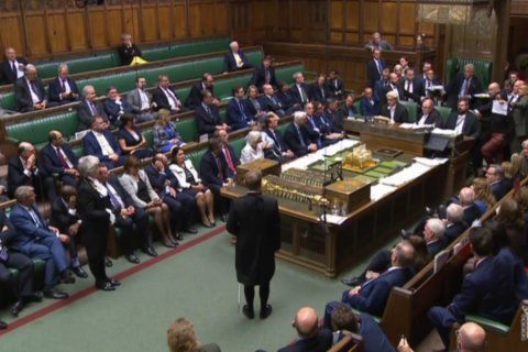 UK opposition rages at Johnson after he suspends Parliament