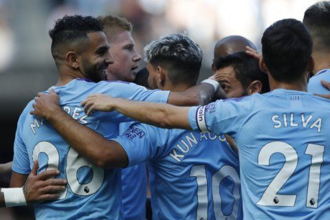 Man City crushes Watford 8-0 in Premier League