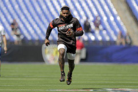 Browns' Beckham fined 14k for incident with Ravens last week