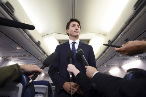 The Latest: Trudeau says he didn't recall brownface pictures