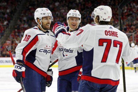 Islanders start season against the Capitals