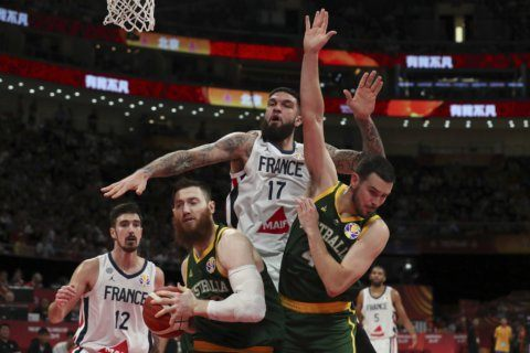France beats Australia 67-59 for bronze medal at World Cup