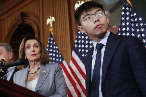 China attacks Pelosi for meeting Hong Kong activists