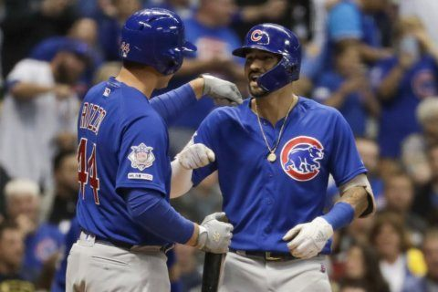 Castellanos crucial for playoff-chasing Cubs