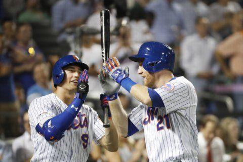 Frazier, McNeil hit 2 HR each, Mets thump D-backs 9-0