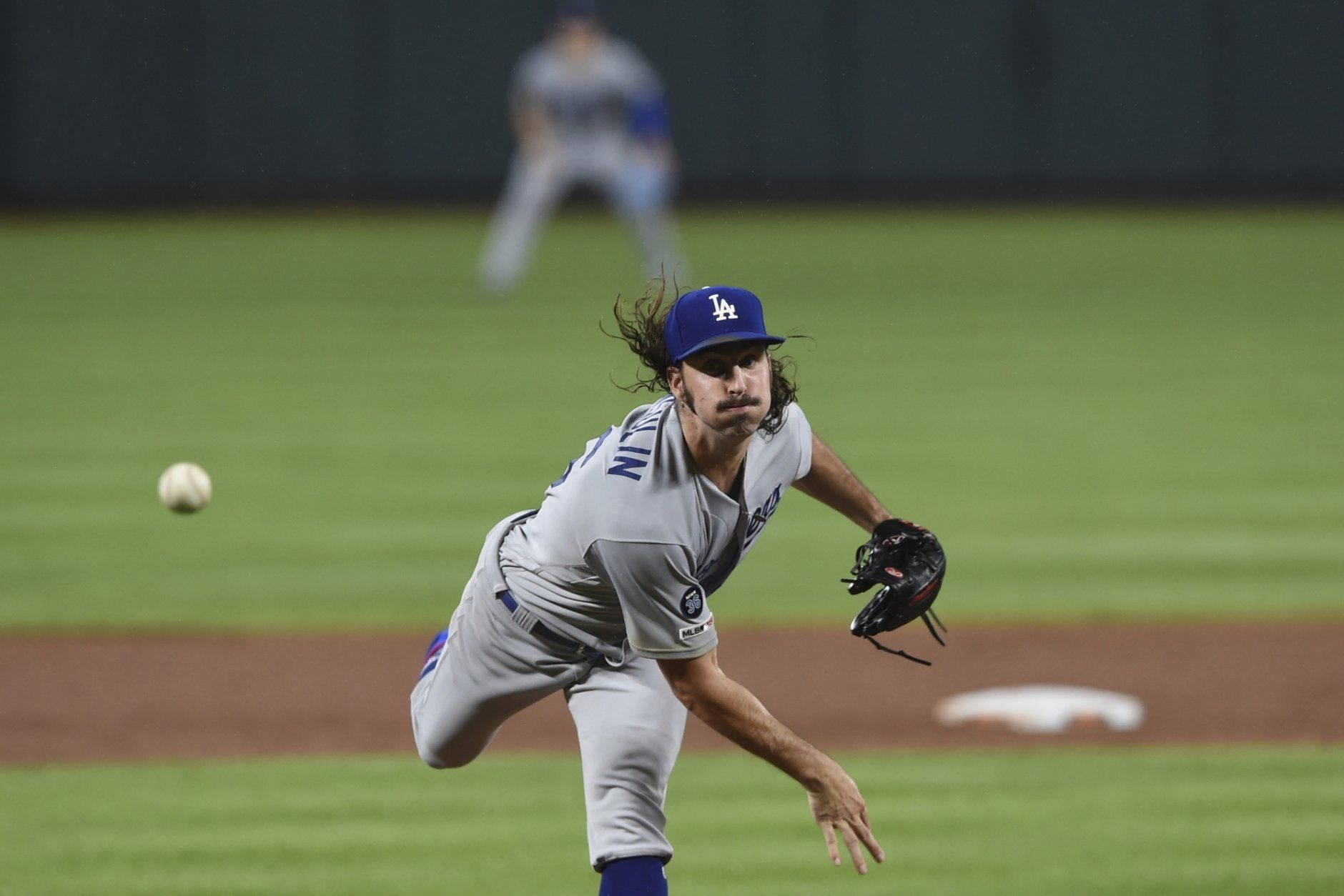 official photos 64d6f 4d13d Hill struggles in return as Dodgers rally past Orioles 4-2 ...