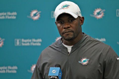 Flores era begins with Dolphins underdogs against Ravens